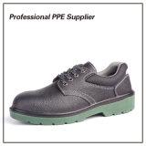 Zapatos de seguridad baratos del metal de la inyección de la PU