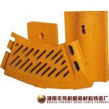 쇄석기를 위한 안대기 격판덮개