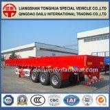 Daling-kant/de Semi Aanhangwagen van de Zijwand voor 20FT Vervoer van de Container
