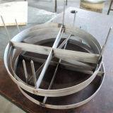 Desembaçador do engranzamento de fio do aço inoxidável/almofada Gas-Liquid do desembaçador