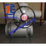 Valvola a sfera d'acciaio forgiata ad alta pressione della flangia 3PC di API/DIN/JIS