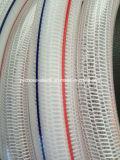 """Tuyau de jardin renforcé tricoté par fibre flexible de l'eau de PVC 1 """""""