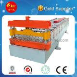 Tipo común trapezoidal rodillo de la hoja de metal que forma el azulejo de la máquina que hace la máquina