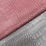 Krokodil-Körnung Belüftung-Kunstleder-Fabrik für Handtaschen, Beutel, Schuhe