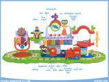Elektrischer Bahnhof, der Spielwaren mit Spielwaren Serie und Fläche-Ausbildung erlernt
