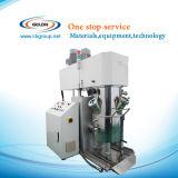 2リットルのリチウム電池機械のための真空ポンプおよびPLCの接触パネル制御を用いる惑星の混合機械