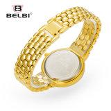 Belbi 여자의 시계 형식 여자의 보석 스테인리스 금 팔찌 다이아몬드 형식 시계