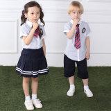 Uniformes escolares hermosos de los cabritos, diseño colorido de la falda del uniforme escolar de Peetty de los cabritos