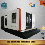 Centro fazendo à máquina horizontal do CNC com peças da importação
