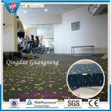 Stuoia variopinta elastica della pavimentazione di ginnastica di sicurezza, stuoia di gomma di ginnastica
