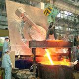 Four de fonte d'admission électrique pour l'aluminium de cuivre de fonte