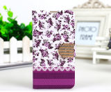 Hot Selling Leather Case for Mobile Phone with Beautiful Design Package