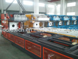 Machine en plastique de Belling de pipe de PVC et machine de Socketing
