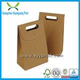 Sac enduit en plastique de papier d'emballage d'emballage de papier de soupape de sac de machine lavable de vente en gros sans traitement