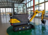 Escavador do Backhoe de CT18-9ds (chassi cabin&retractable) mini