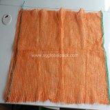 Sacchetti di verdure impaccanti arancioni della maglia di 50*80 Raschel