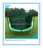 Trampoline ao ar livre de 14FT cabido na jarda para miúdos