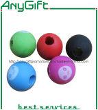 gomme à effacer en caoutchouc de la boule 3D avec le logo adapté aux besoins du client