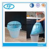 Sac d'ordures en plastique personnalisé de cordon d'impression