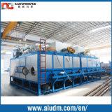 1100 het Verwarmen van de Staaf van het Aluminium van T Oven met de Hete Scheerbeurt van het Logboek in de Machine van de Uitdrijving van het Aluminium