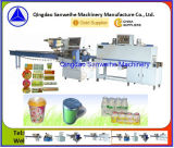 Kleine Mineralflaschenshrink-Verpackungsmaschine