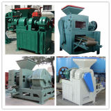 10 Tonnen pro Stunden-Kissen-Kugel-Form-Steinkohlenbrikett-Extruder-Maschine