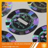 Изготовленный на заказ Tamperproof стикер Hologram Bitcoin ярлыка лазера 3D
