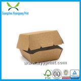 Коробка еды коробки бургера Eco содружественная изготовленный на заказ дешевая бумажная
