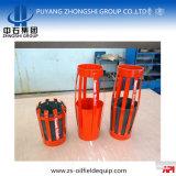 Slittamento di cementazione dello strumento sul cestino d'acciaio del cemento del petalo del metallo della barretta