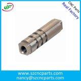 CNCの回転部品の製粉の部品の機械化の部品、アルミニウムCNCの部品