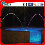 Fontaine laminaire colorée de regroupement