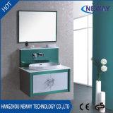 Мебель шкафа ванной комнаты зеркала высокого качества стальная классицистическая