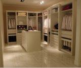 Белая прогулка меламина в (подгонянной) конструкции шкафа