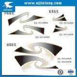 Diecut Overdrukplaatjes van de Sticker voor Elektrische de Auto van de Motorfiets