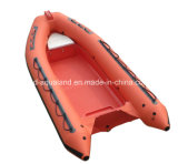 Aqualand 16feet 4.8m Rib Motor BoatかRigid Inflatable Rescue Boat (RIB470A)