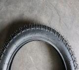 고품질 튼튼한 자연 고무 기관자전차 타이어 (80/100-14)