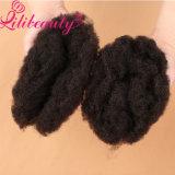 Cheveu indien crépu d'Afro d'armure d'enroulement de Remy d'amour de femmes