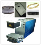 Машина маркировки лазера волокна хорошего качества Desktop для Я-Пусковой площадки, на iPhone/Apple