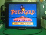 Crisol de juego de la tarjeta del monitor de la pantalla táctil de la máquina de juego del oro