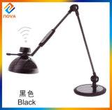 Lámpara de vector moderna del tacto LED para la lectura, luz de la noche del LED