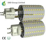 Lampe à LED à LED 30W G12 avec ventilateur pour remplacer les lampes halogènes G12 de 300W à 350W PF> 0.9 125lm / W