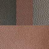 Couro macio do Synthetic do couro da mobília do couro do carro dos sacos de couro de sapatas do couro artificial do PVC da certificação Factoryz055 do GV