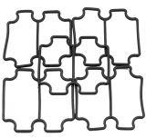 Giunto circolare/anello di chiusura di gomma materiali neri di alta qualità Viton/EPDM/NBR/FKM/Silicon