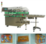 Verpakkende Machine van het Cellofaan van de Doos van de Thee van de Technologie van Ima de Automatische met de Band van de Scheur