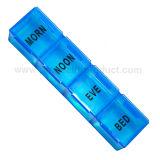 Mini uma caixa plástica do comprimido do dia (PH1198)