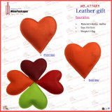 사랑스러운 Heart Shaped Leather Paper Weight (4774R9)