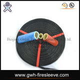 Tuyau flexible de Stocklot de tuyau hydraulique de douille du feu, tuyau en caoutchouc à haute pression hydraulique