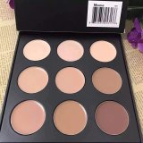 9 couleurs de couleur ronde / carrée Deux styles Super Hot Selling Morphe Highlight Concealer Palette