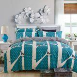 暖かいキルトカバーシーツによっては織物4PCSの寝具セットが家へ帰る