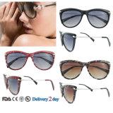 UV400 보호 색안경은 늦게 색안경 도매 숙녀 색안경을 만든다